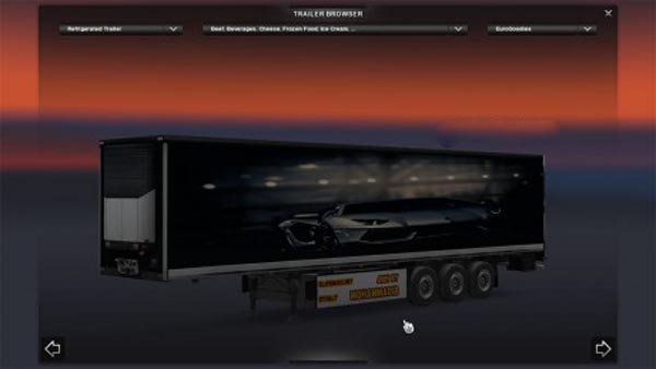Lamborghini Aventador Trailer #1