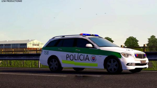 Policia SR AI Traffic Mod