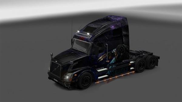 Predator Skin for Volvo 670