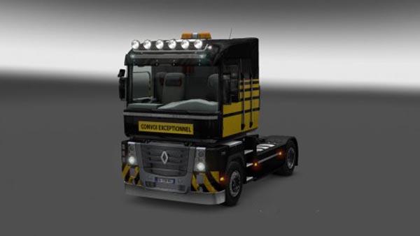 Renault Magnum Heavy Haulage Skin