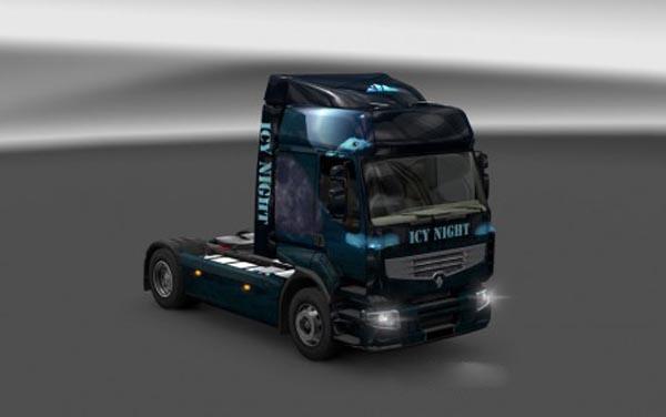 Renault Premium Icy Night Skin