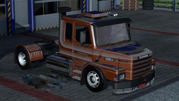 Scania 112h Intercooler