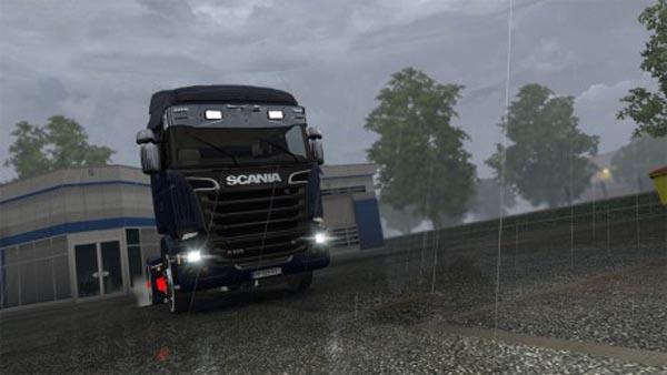 Scania Chrome Sunshield
