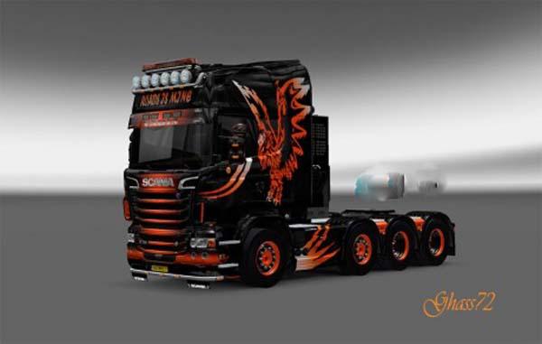 Scania O.S Eagle skin