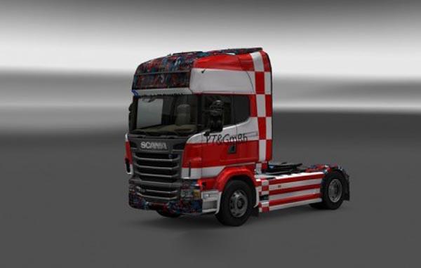 Scania R 2009 YT GmBh Skin