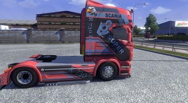 Scania R 730 Design N7 Skin