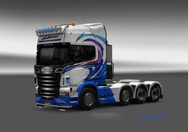 Scania R Aaltonen Skin