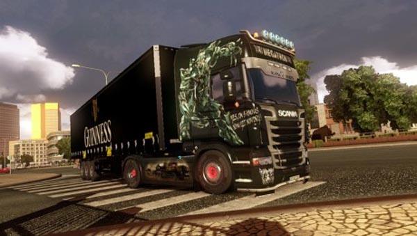 Scania R Mega Tron Skin