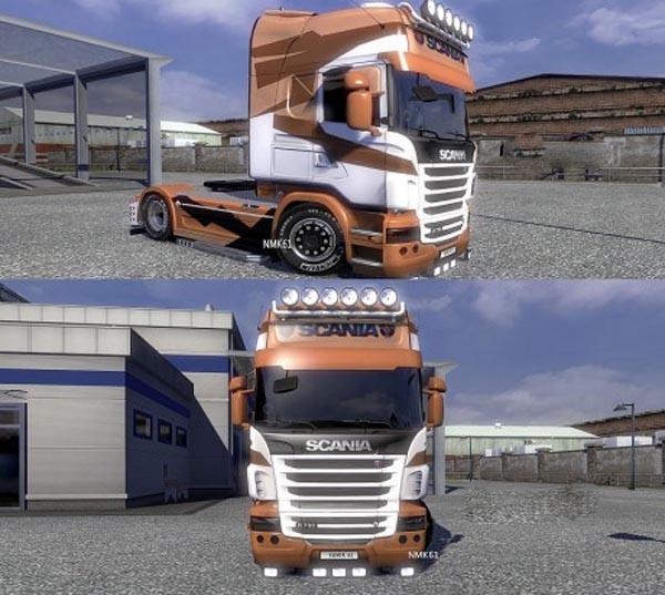 Scania R NMK61 Design N2 Skin