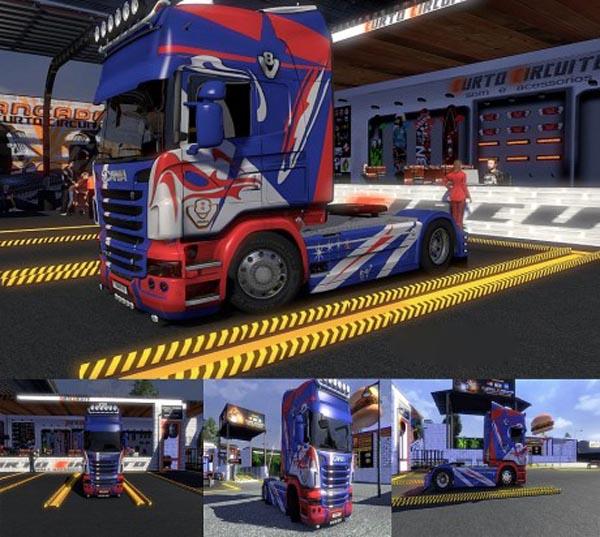 Scania R NMK61 Design N3 Skin 1.16