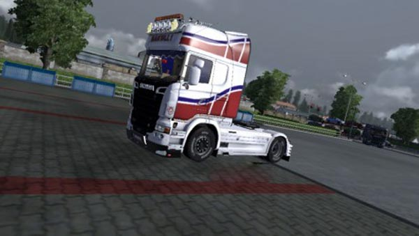 Scania R2008 Chasis