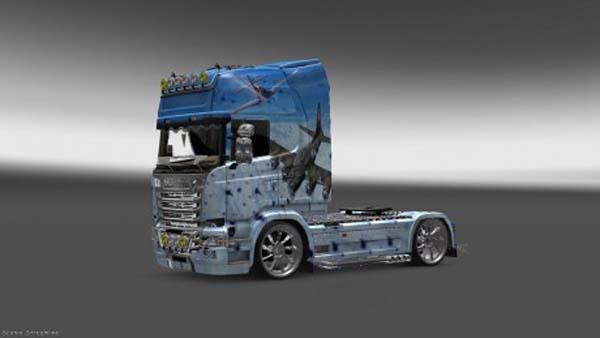 Scania Streamline 1100 Skin