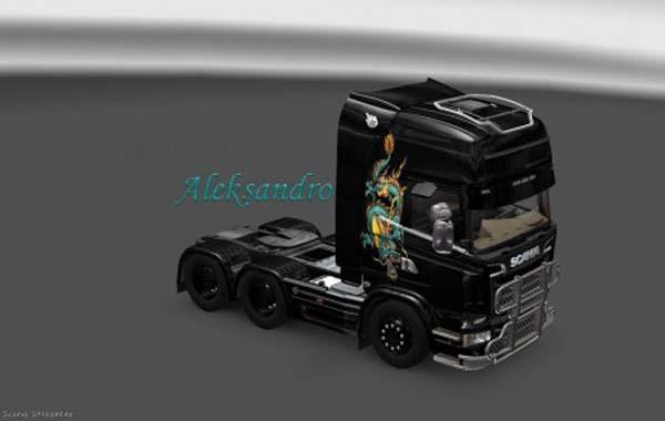 Scania Streamline Dracon Skin
