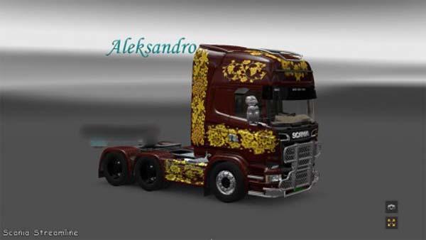 Scania Streamline Hohloma Skin