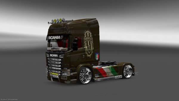 Scania Streamline Juventus Skin v 2.0