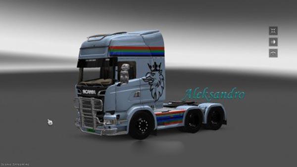 Scania Streamline Line Skin