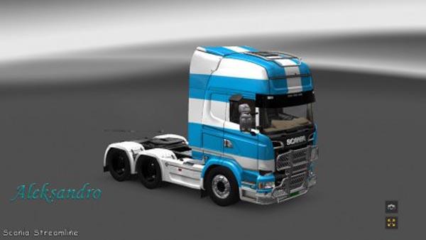 Scania Streamline Taganrog Skin