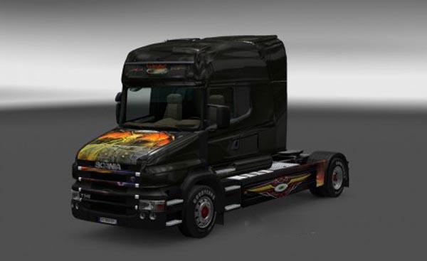 Scania T Flying Eye Skin