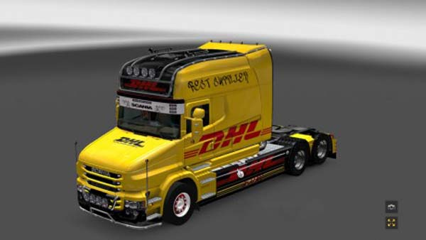 Scania T Longline DHL Skin