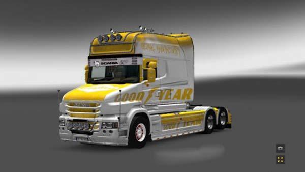 Scania T Longline Good Year Skin