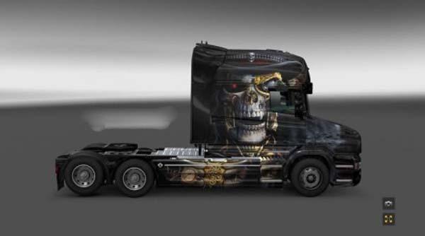 Scania T Punk Skull
