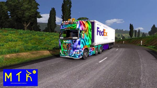 Skin Scania Color Effect