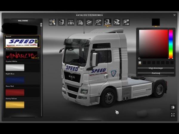 Speed-Transport Man TGX Skin