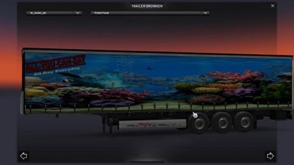 Sushi trailer skin