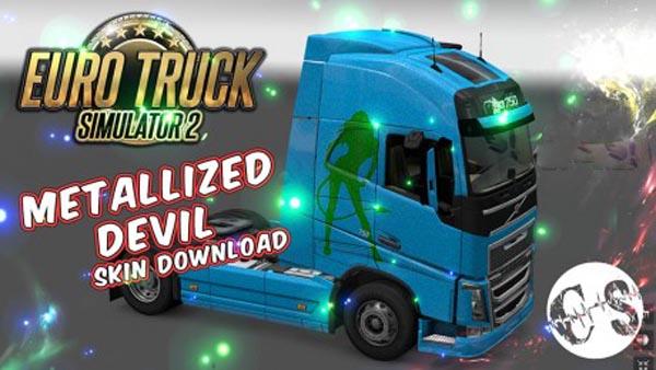 Volvo FH 2012 Metallized Devil Skin