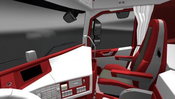 Volvo FH 2012 Red White Interior