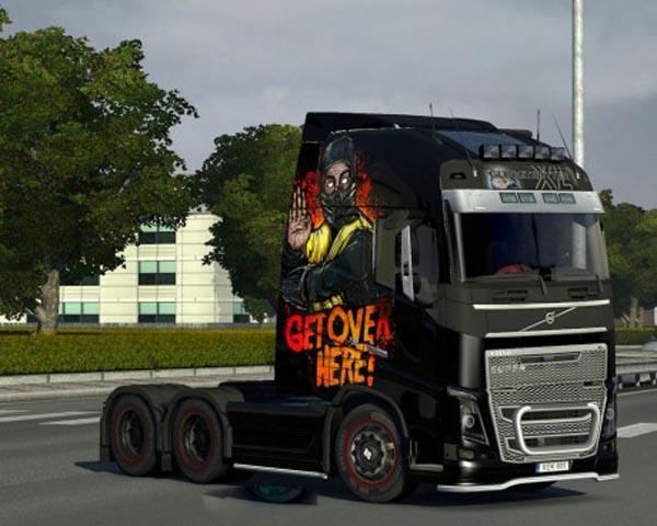 Volvo FH 2012 Scorpions Skin