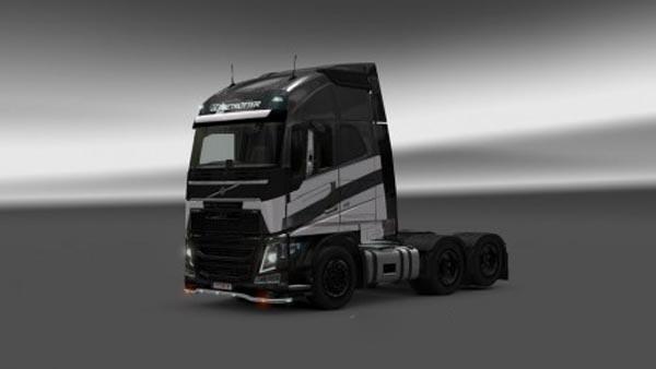 Volvo FH 2012 TF4 Galvatron Skin