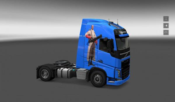 Volvo FH 2012 Team Fortress 2 Skin