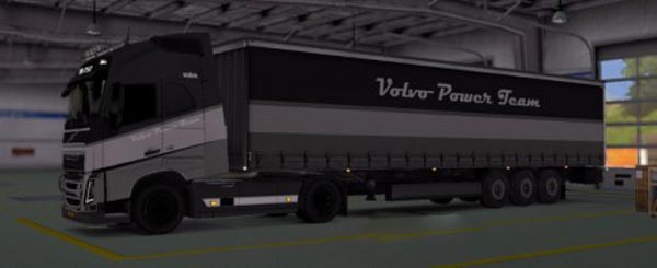 Volvo Power Team Trailer