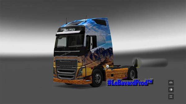 Western Skin for Volvo FH2012