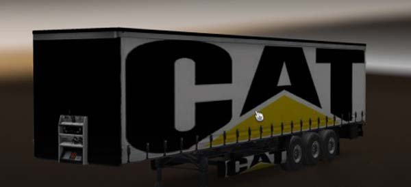 Caterpillar Trailer