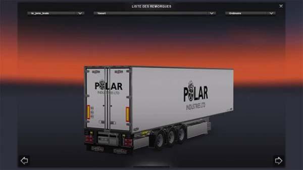 Chereau – Polar Industries Ltd – Skin Trailer