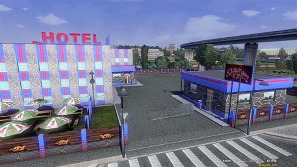 ETS 2 New hotels