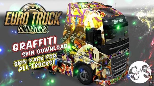 Graffiti Pack Skin for All Trucks