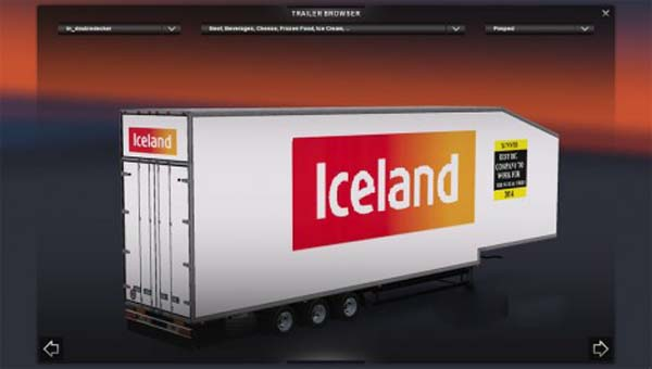 Iceland Double Deck trailer