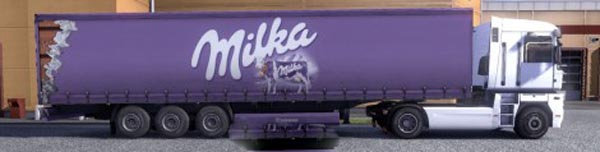 Krone Profi liner and Cool liner skin – Milka