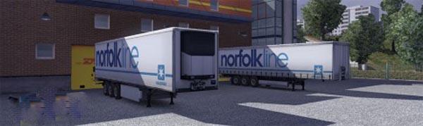 Krone Profi liner and Cool liner skin – Norfolkline
