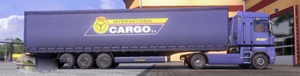 Krone Profi liner and Cool liner skin – PKS Cargo