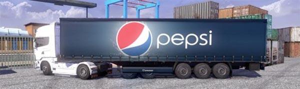 Krone Profi liner and Cool liner skin – Pepsi