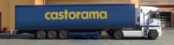 Krone Profiliner and Coolliner Castorama Trailer Skin