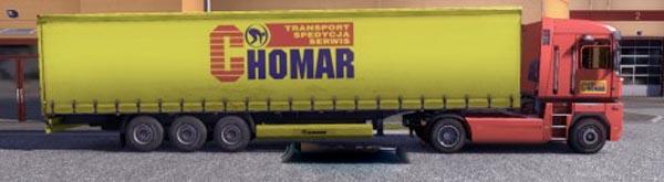 Krone Profiliner and Coolliner Chomar Trailer Skin
