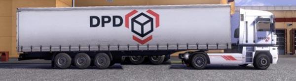 Krone Profiliner and Coolliner DPD Trailer Skin