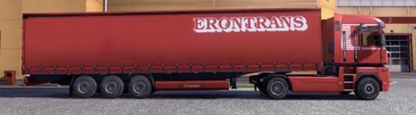 Krone Profiliner and Coolliner Erontrans Trailer Skin