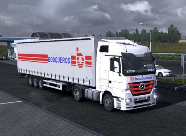 Mercedes Actros Bouquerod Transports Combo Pack