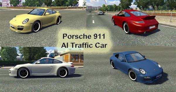 Porsche 911 AI Traffic Car